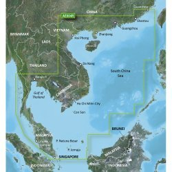 Garmin BlueChart  g2 - HAE004R - Hong Kong/South China Sea - microSD™/SD™