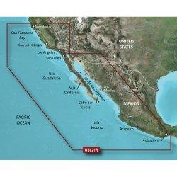 Garmin Bluechart  G2 Hxus021R California - Mexico - Microsd/Sd