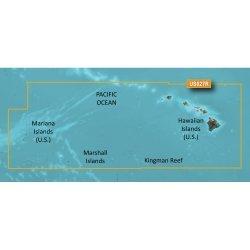 Garmin Bluechart  G2 Hxus027R - Hawaiian Islands - Mariana Islands - Microsd/Sd