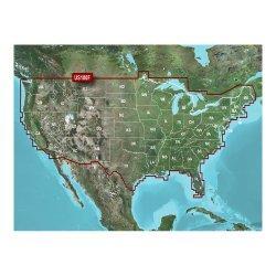 Garmin Lakev  Hd - Microsd/Sd For Gpsmap  Series, Montana  & Oregon  Handhelds
