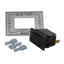 Attwood Marine 3-Way Auto / Off / Manual Bilge Pump Switch
