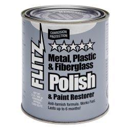 Flitz Polish - Paste 2.0 Lb Quart Can Ca 03518-6