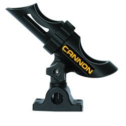Cannon 2450169-1 Rod Holder Single Composite Side or Top Mount Adjustable
