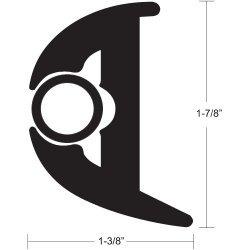 Taco Flex Rub Rail Kit 7/8X70 Black/Black