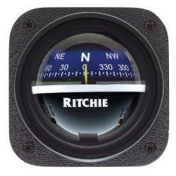 Ritchie V-537B Explorer  Bulkhead Mount Compass Blue Dial Marine