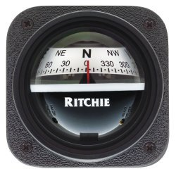 Ritchie V-537W Explorer Bulkhead Mount Compass White Dial Marine
