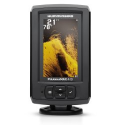 Humminbird Piranhamax 4 DI with Transom Mount Transducer