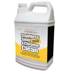 Flitz Stainless Steel & Chrome Cleaner w/Degreaser - 1 Gallon