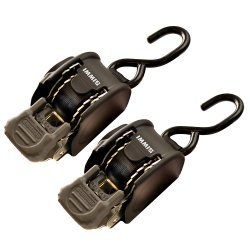 """BoatBuckle Retractable Transom Tie-Down System - 1"""" x 72"""""""