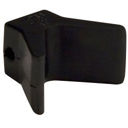 """C.E. Smith Bow Y-Stop - 2"""" x 2"""" - Black Natural Rubber"""
