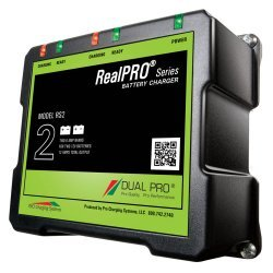 Dual Pro RealPRO Series On Board Marine Battery Charger - 12A - 2-6A-Banks - 12V/24V