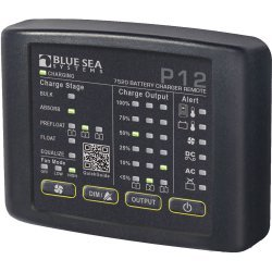 Blue Sea 7520 P12 LED Remote For On Board Marine Battery Chargers