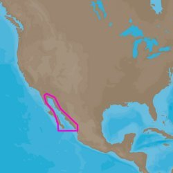 C-MAP  4D NA-D950 Gulf of Califonia , Mexico