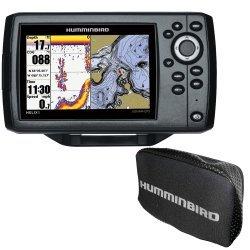 Humminbird HELIX 5 CHIRP DI GPS G2 Combo w/Nav+ and Cover