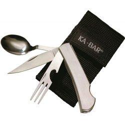 Ka-Bar Hobo-SS Fork,Knife,Spoon