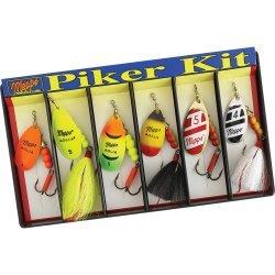 Mepps Piker Kit - #4 and #5 Aglia Assortment