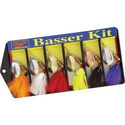 Mepps Basser Kit - Dressed #3 Aglia Assortment