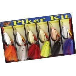 Mepps Piker Kit - Dressed #5 Aglia Assortment