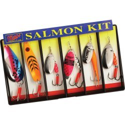 Mepps Salmon Kit - Plain Lure Assortment