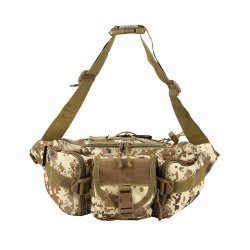 Osage River Fishing Tackle Bag Waist Fanny Pack Tan Dig Camo ORFBWPTDC