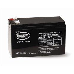 American Hunter Deer Game Feeder DE1270DC 12v 7AH Rechargeable Battery