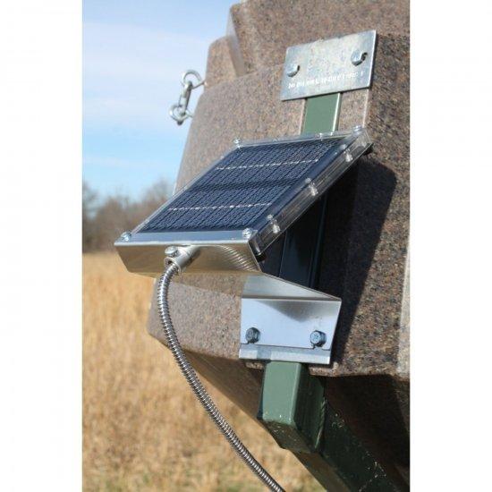 Boss Buck Deer Game Feeder Solar Panel 12v - Great Life