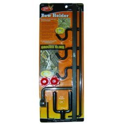 HME Ground Blind Bow Holder With Hooks
