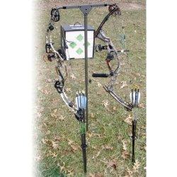 HME Archers Practice Hanger Ground 2 Bow Holder