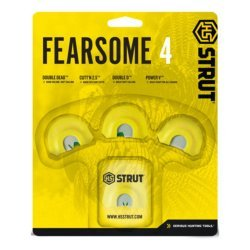 Hunters Specialties Turkey Call Strut Fearsome 4 Diaphragm 4 Pack