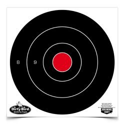 Birchwood Casey Dirty Bird 8in Round Bullseye-200 Targets