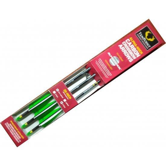 Tenpoint Pro Elite Crossbow Arrows Alpha Nocks 6 Pack 20 Inch HEA-640.6